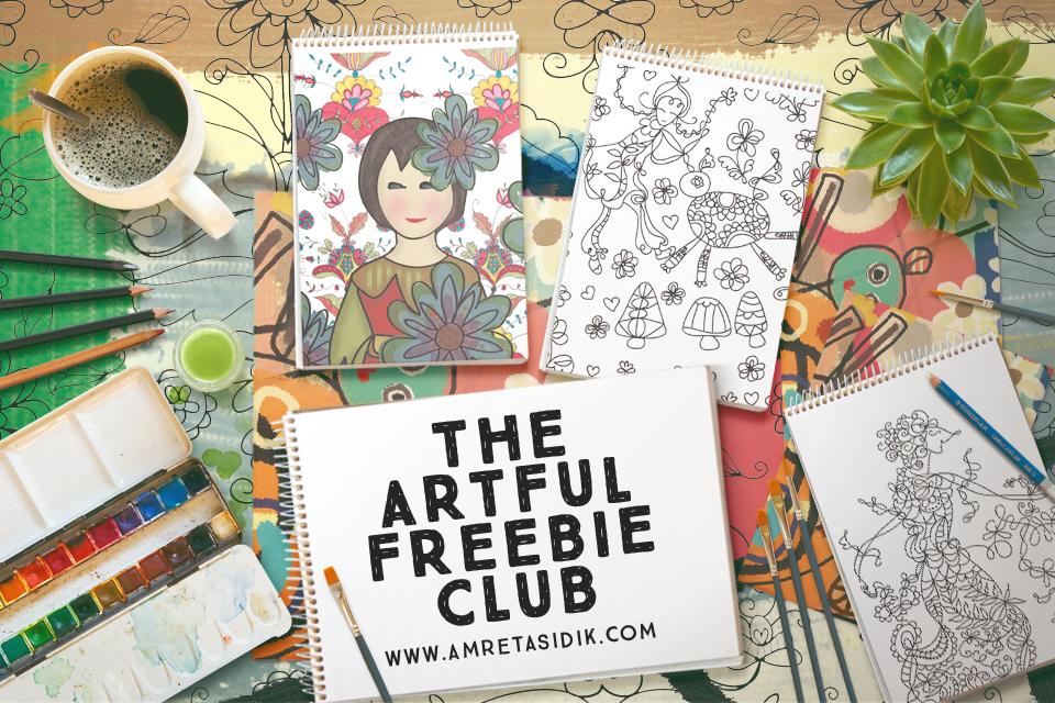 Artful Freebie Club 1