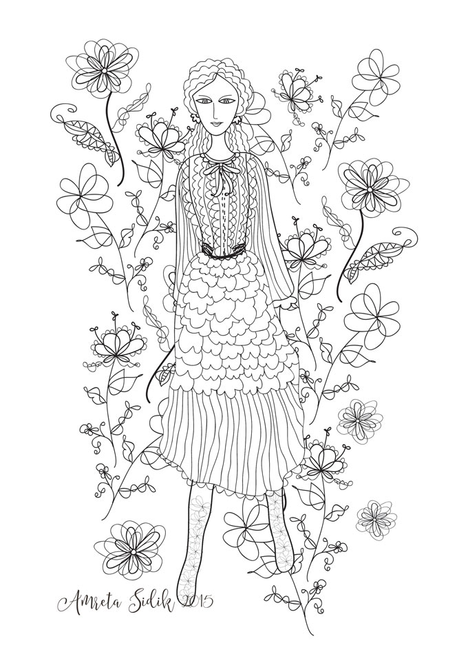 My Artful Cup Of Java Today In Vogue And A New Coloring Page